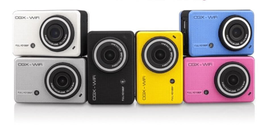 CGX1 Action Cameras - Assorted Colors